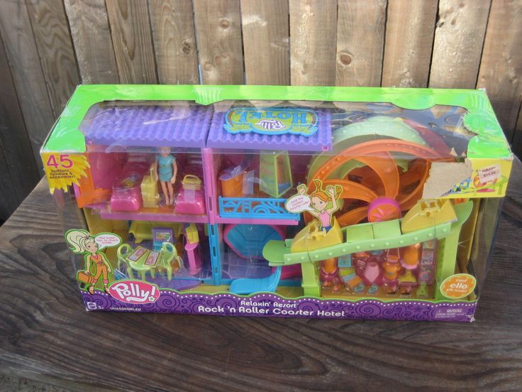 NEW IN BOX  Polly Pocket Mattel Rock N Roller Coaster
