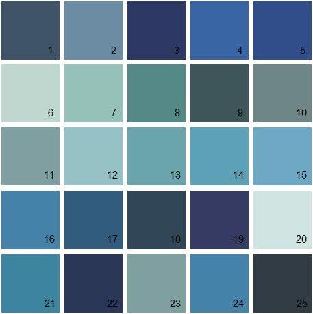 Blue Paint Swatches 944 best color palettes images on pinterest | colors, wall colors
