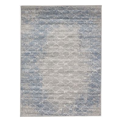 ECarpet Gallery 195501 Madiba Blue and Gray Rug