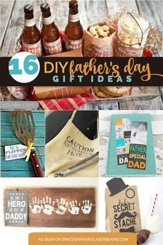 16 DIY Father's Day Gifts