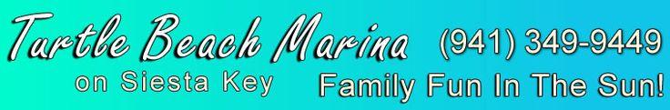 Turtle Beach Marina and Boat Rentals, Siesta Key, Sarasota, Florida