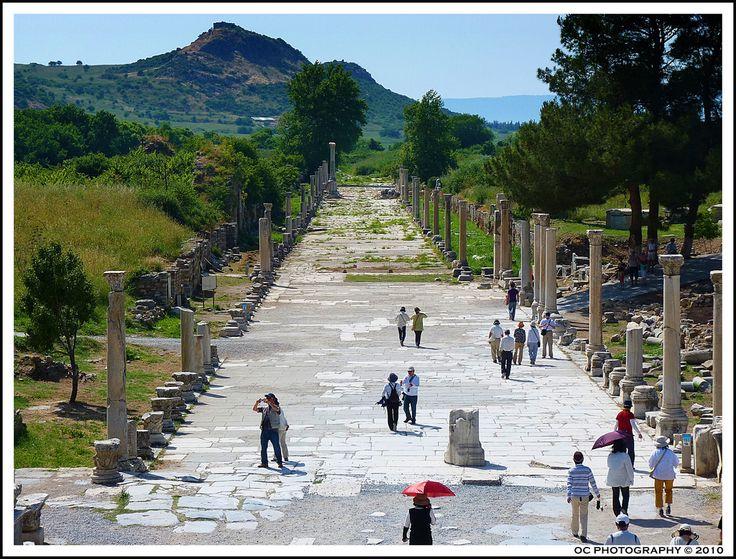 Liman Caddesi: Efes kentinin limana bağlantısını sağlıyordu. 600 m. uzunluktaki cadde üzerine kentin Hıristiyanlık Döneminde anıtlar yapılmıştır.