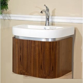 Gallery One Single Bathroom inch Wood Vanity Overstock Shopping Great Deals on