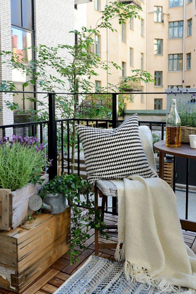 55 Inspiring Balcony Ideas For Small Apartment Idees Balcon