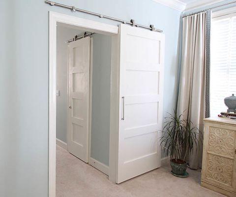 How to make inexpensive barn doors