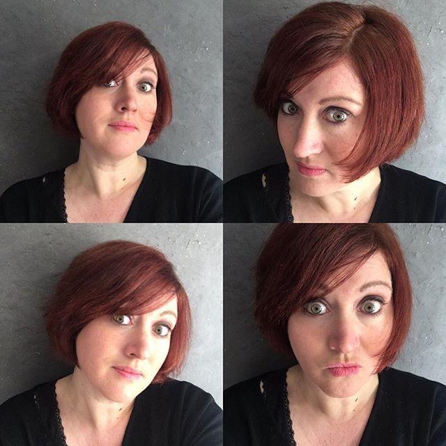 Envie de changement sans etre sûre de moi... Demander conseil aux copines la veille de mon rendez coiffeur vers 22h30. Hésiter... Et puis oser ! Merci @seebyse pour le relooking virtuel express ❤️