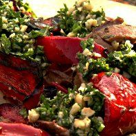 Channel 4 Scrapbook - Barbecued leg of lamb with almonds recipe