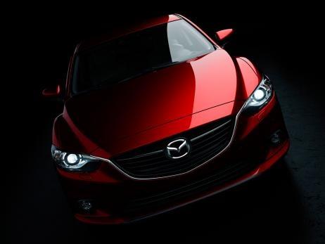 2013 Mazda 6: Moscow Motor Show 2012 #mazda6