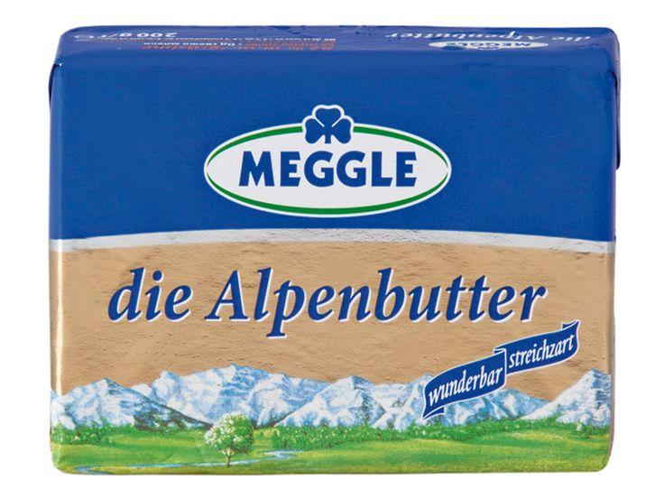 Alpenbutter 250g 82%  29,- Kč