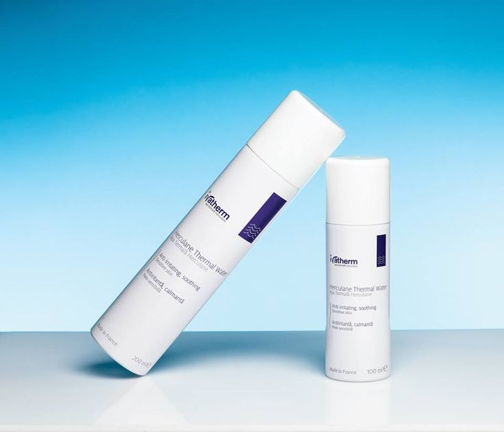 Herculane #thermal spring #water has a calming and anti-irritant effect on skin #Ivatherm