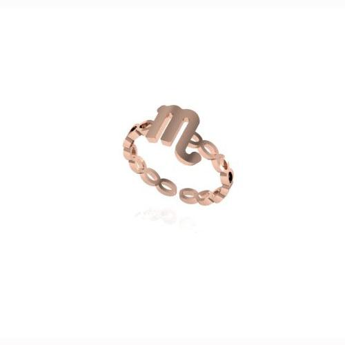Akrep Burç Yüzük - Scorpia Zodiac Ring