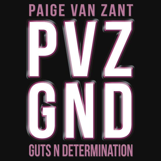 Paige Van Zant the pocket rocket from Sacramento, 12 Gauge as she is known to fans, or PVZ showed plenty of GND - Guts & Determination in her fight against Rose Namajunas. Made by Omnia Graphics on #RedBubble #OmniaGraphics