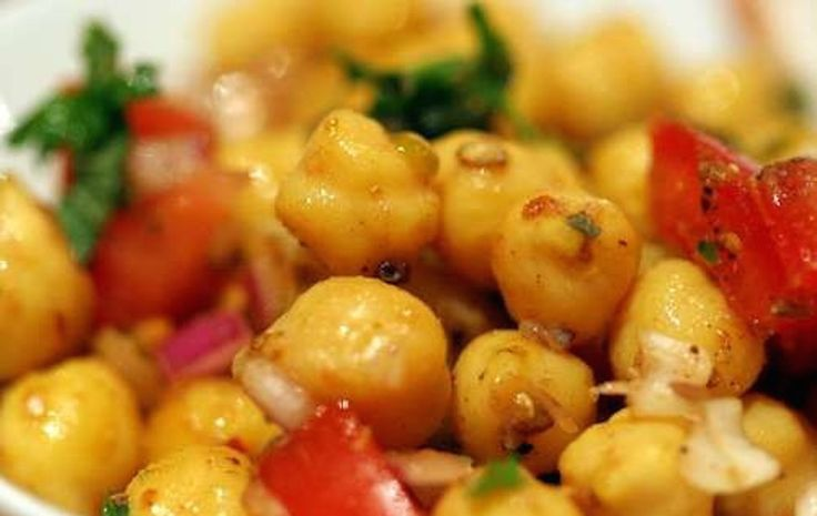 Channa Chaat | Chickpea Tangy Salad | Indian | Vegetarian | A Life Time of Cooking