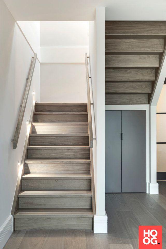 25 beste idee n over houten treden op pinterest tuintrap houten terrassen en stappen voordeur - Interieur houten trap ...