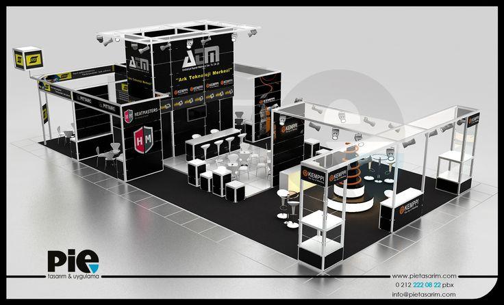 Win Metal Fuarı ''ATM KAYNAK'' Stand Tasarımımız