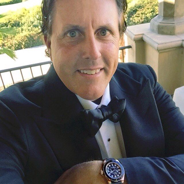 Phil loves Rolex watches