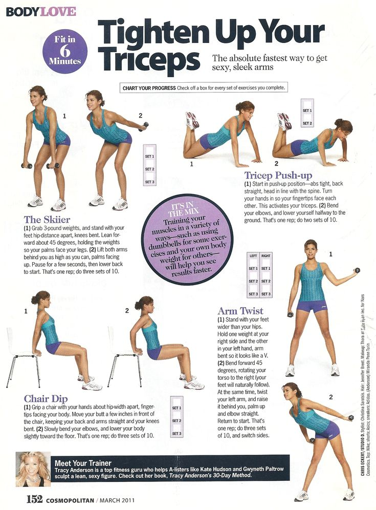 Tighten Up Your Triceps Workout