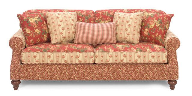 Plaid Sofa And Loveseat Lazy Boy Country Green Plaid Sofa