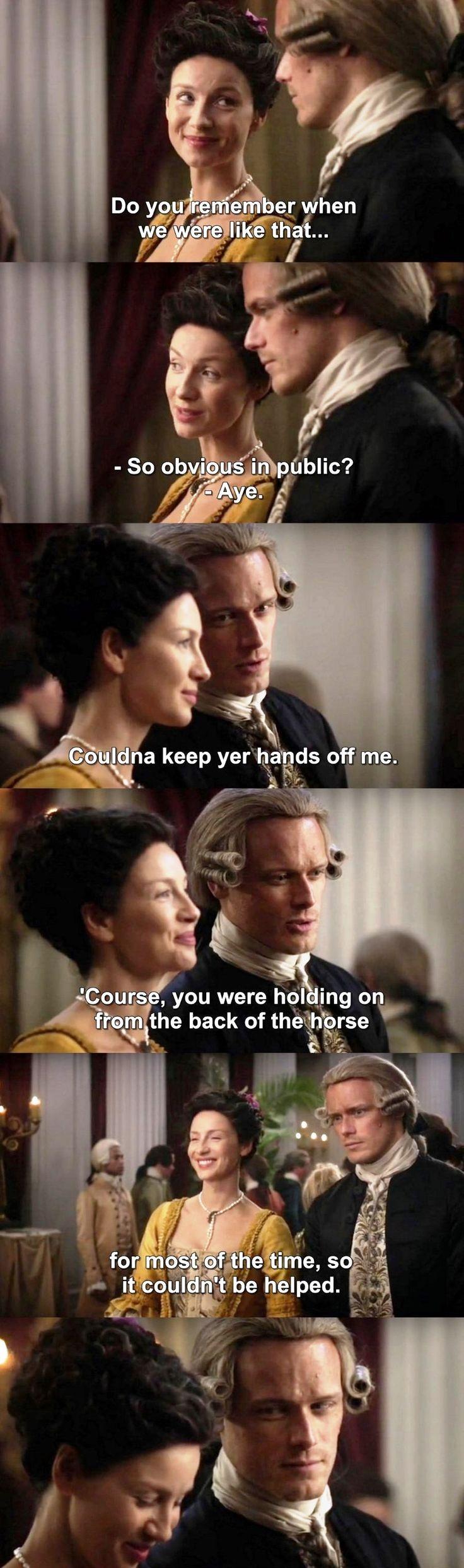 Outlander S03E12 - Jamie & Claire