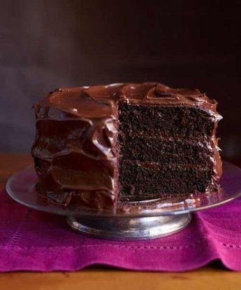My go to recipe since I began cooking in the early 60's, the flavor is unbeatable. It is the best Chocolate Cake recipe ever and easy to make. My grandmother taught it to me but she got it out of the Good Housekeeping Magazine in hte 20's or 30's