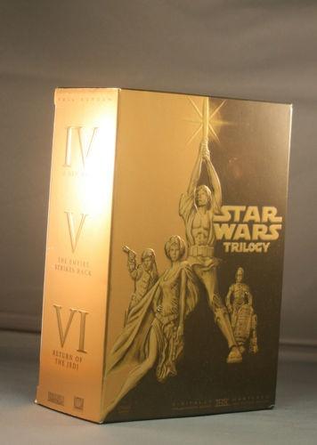 Star Wars Trilogy DVD 4 Disc Set  | eBay Starting Bid $40.00