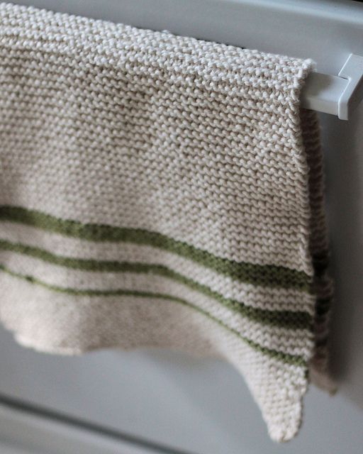 Easy Knit Dish Towel Pattern