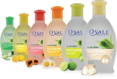 Produk Ovale Facial Lotion