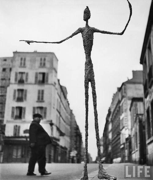 by Alberto Giacometti