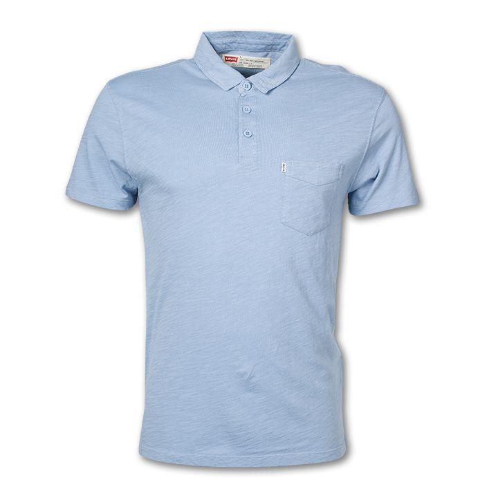 #jeanspl #levis #liveinlevis #tshirt #polo #levistshirt #men #mencollection #sunset #sunsetpolo #mockblue #blue #standard #cotton