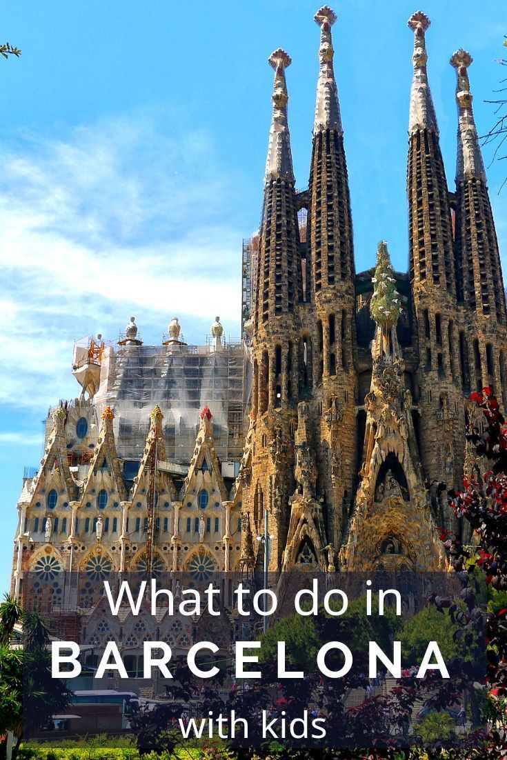 10 Awesome Things To Do In Barcelona With Kids Family Travel