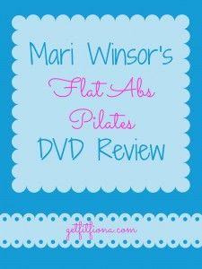 Mari Winsor's Flat Abs Pilates DVD Review March 24 2015