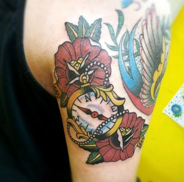 28 best ideas for my tattoo images on pinterest compass for Tattoo oklahoma city ok