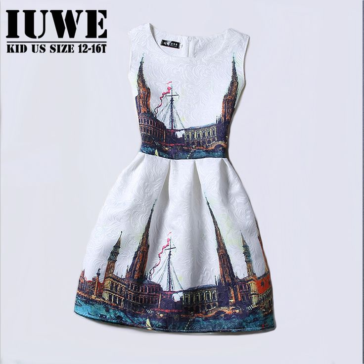Cheap dress zipper, Buy Quality dresses for larger ladies directly from China dress shine Suppliers:         Girl Dresses Summer 2016 Dresses for Girls of 5-12T Years Princess Floral dresses Long Sleeve Girls pa