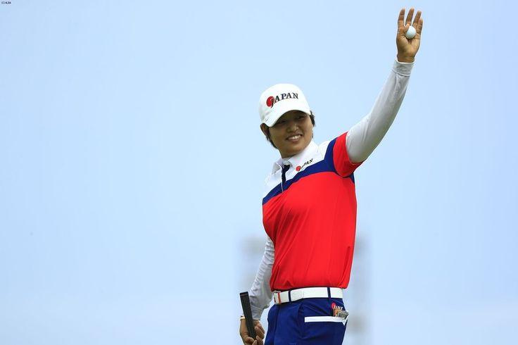 野村敏京、日本ゴルフ初の4位入賞!笑顔引き出した日本ギャラリー