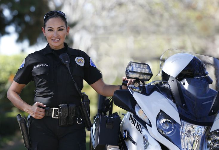 Garden Grove Police Department's Katherine Anderson, one of only five female motor officers in Orange County, is on her third tour of duty with the motorcycle unit.  #MotorUnit #Setcom