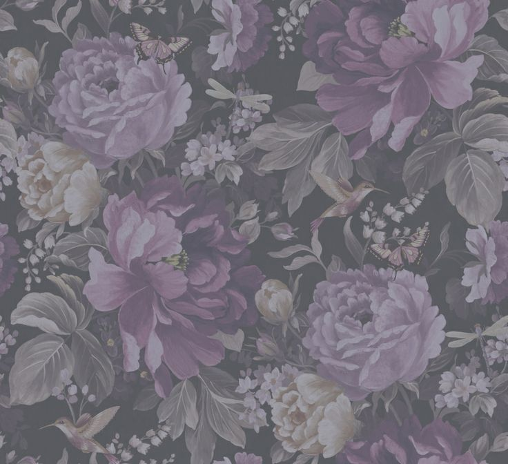 Dianthus wallpaper in Purple Haze from the 'Shade Wilder' collection by Arthouse. Available exclusively in New Zealand through Guthrie Bowron.