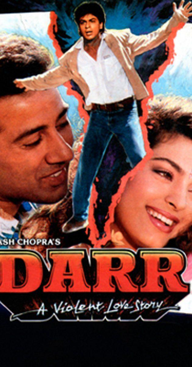 Directed By Yash Chopra With Shah Rukh Khan Juhi Chawla Sunny Deol Anupam Kher Darr Is A Girl S Kiran Hindi Bollywood Movies Bollywood Movie Srk Movies