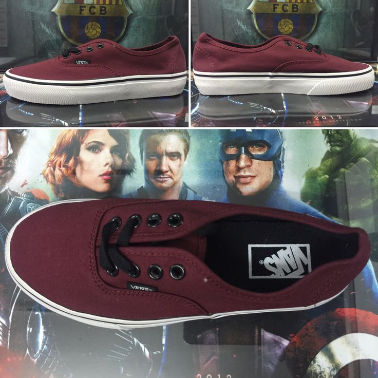 Maroon vans . All size available. For online order, visit on Instagram @ fabulous_store_c.town or what app on 9634268341