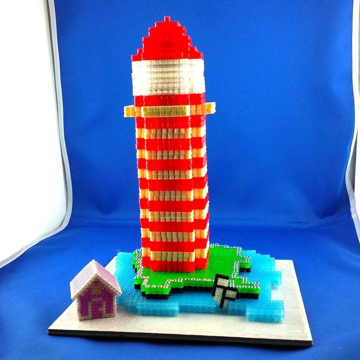 Leuchturm 3D  Hama Beads 5mm