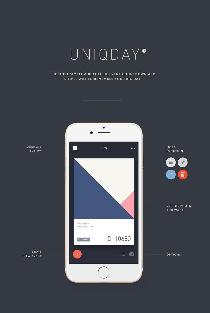UNIQ DAY on App Design Served