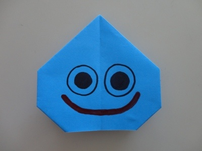 how to make Slime with origami