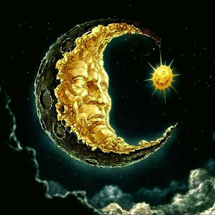 101 best Whimsical Moons images on Pinterest | Good night ...