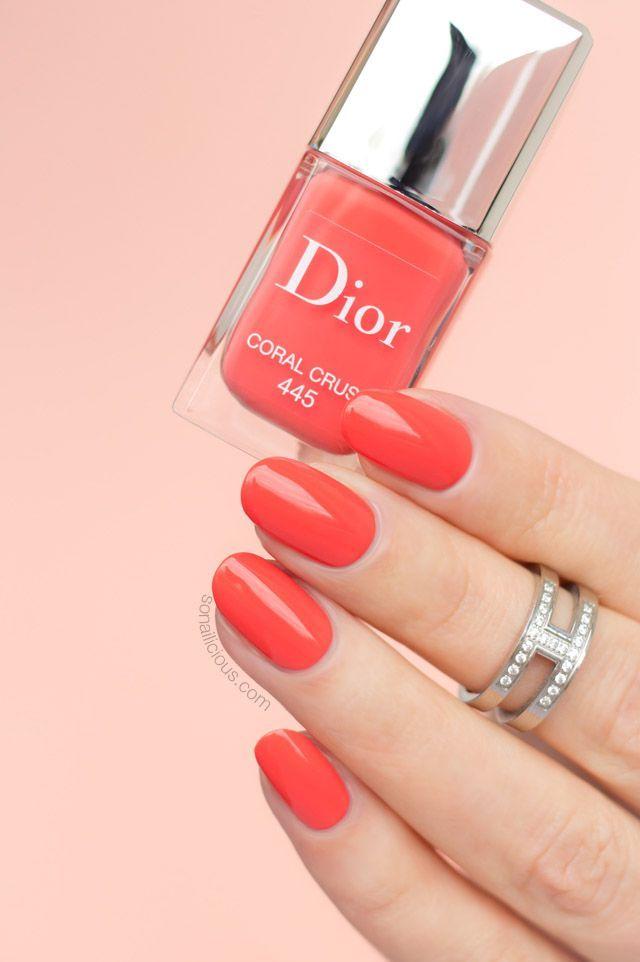 Dior Coral Crush The Most Beautiful Coral Nail Polish