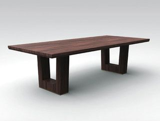Bristol Dining Table - contemporary - dining tables - other metros - Holly Hunt