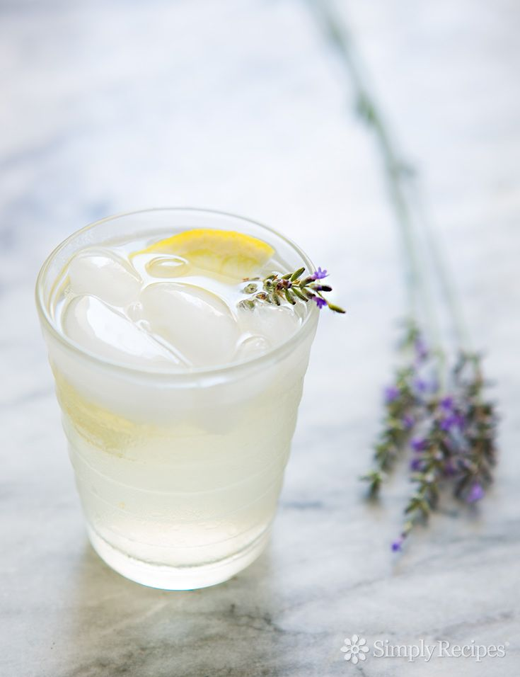 Lavender Lemonade ~ Homemade lemonade with infused lavender ...