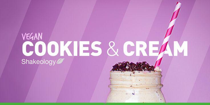 Vegan Cookies and Cream Shakeology