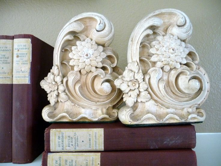 Vintage Syroco Bookends By OneFairfaxRoad.