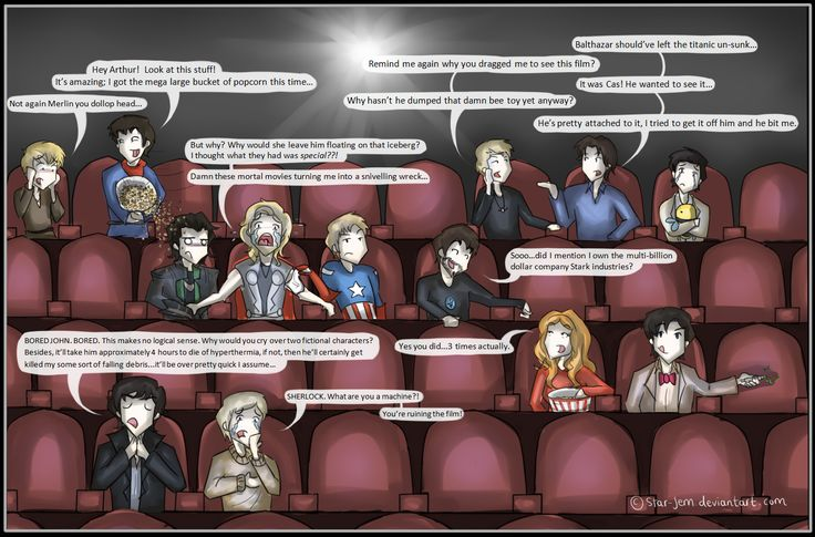 Superwholockingers - at the movies by ~Star-Jem on deviantART