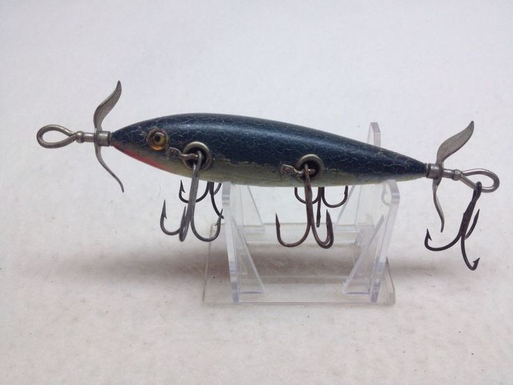 360 best old fishing lures images on pinterest fishing for Antique fishing lures prices