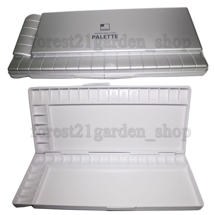 ShinHan Professional HIPS Watercolor palette - 42 Colors Compartments #Shinhan